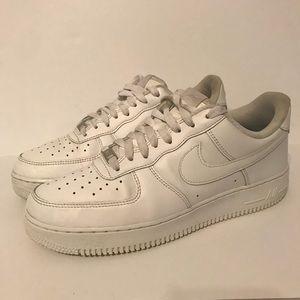 Nike Air Force 1 White Men's 9.5